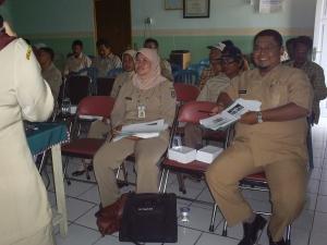 peserta pelatihan BINTIK