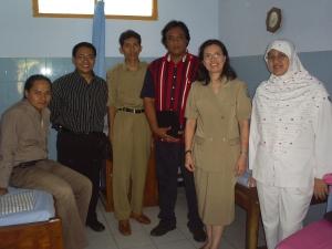 Kunjungan Jojok team di PKM Mojoagung