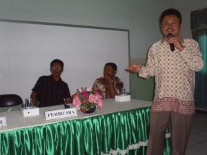 Bp. Haryo Purwono (Kasi P2 Dinkes Jombang)