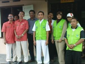 Tim Gadar PKM Mojoagung dgn tim RSUD Jombang